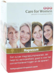 Care for Women Care for Woman Magnesium Vegetarische Capsules 60st