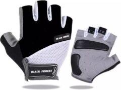 NoraSol Fietshandschoen Heren - Fietshandschoen Dames - Fietshandschoen Unisex - met grip zwart M, MTB, ATB, Race, Handschoen