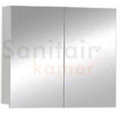 Spiegelkast Boss & Wessing Sally 100 cm Aluminium