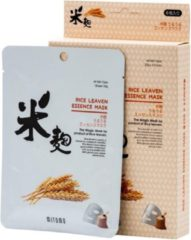 Witte Mitomo Japan Mitomo™ Rice Leaven Gezichtsmasker - Anti Aging Face Mask - Gezichtsverzorging Masker