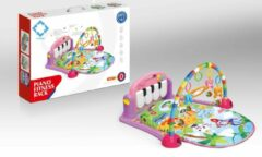 FDBW Interactief Speelkleed – Paars   Baby Speelkleed – Jungle   Speelkleed Met Boog   Baby Speelmat Gym – 50x40x10cm