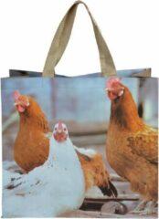 "Esschert Design Boodschappentas ""Kippen"""