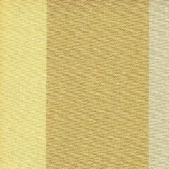 Acrisol Sahara Ocre 68 gestreept wit, geel, okergeel stof per meter buitenstoffen, tuinkussens, palletkussens