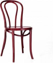 Fameg Vienna Thonet No.18 - Houten bistrostoel - Rood