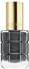 Grijze L'Oréal Paris Color Riche Nagellak 672 Gris Décadent