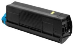 OKI C5200, C5400 tonercartridge geel standard capacity 3.000 pagina's