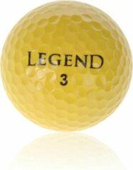 Legend Distance Golfballen - Dozijn / 12 stuks - Geel