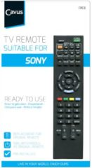 Cavus afstandsbediening TV afstandsbediening voor Sony zwart