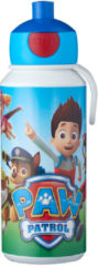 Blauwe Mepal Campus PAW Patrol drinkfles pop-up 400 ml