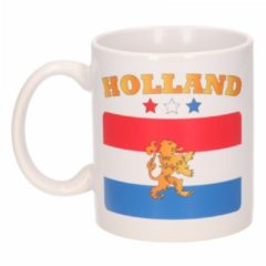 Shoppartners Mok Holland vlag - koffiemok / theebeker