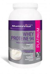 Mannavital Whey proteine platinum 900 Gram