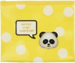 Gele Stationery Team Etui Emo Fun yellow 15 x 21 cm