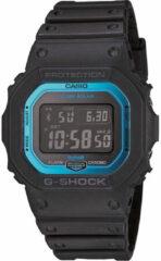Casio Zendergestuurd, Solar Horloge GW-B5600-2ER (l x b x h) 13.4 x 42.8 x 48.9 mm Zwart, Blauw Materiaal (behuizing): Hars Materiaal (armband): Hars