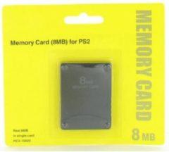 Zwarte Dolphix Geheugenkaart 8MB voor PlayStation 2