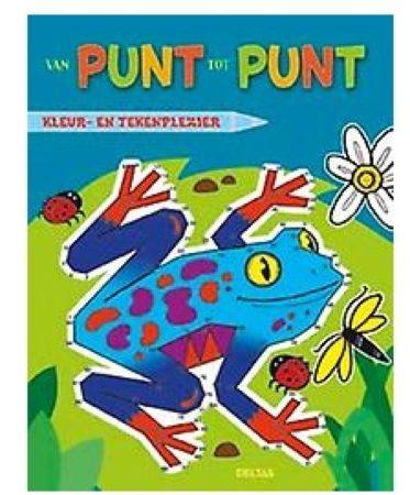 Afbeelding van B.V. Centrale Uitgeverij Harderwijk Deltas Van Punt Tot Punt Kikker Tekenboek