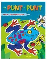 B.V. Centrale Uitgeverij Harderwijk Deltas Van Punt Tot Punt Kikker Tekenboek