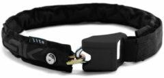 Zwarte Hiplok - Lite Wearable 6mm Chain Lock - Fietsslot maat 75 cm zwart
