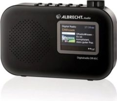 Albrecht DR 65 C tragbares Digitalradio, DAB+/UKW, Farbdisplay, Batteriefach