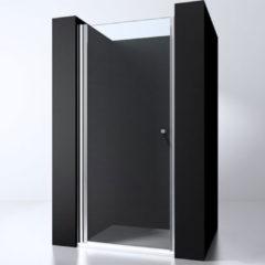 Douche Concurrent Douchedeur Erico Nisdeur Draaideur 100x200cm Antikalk Helder Glas Chroom Profiel 6mm Veiligheidsglas Easy Clean