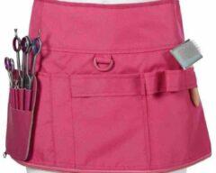 Roze Guardian Beauty Kappersschort met de klittenbandsluiting instellen op uw eigen heupmaat | 1 grote opbergvakken | extra riempjes