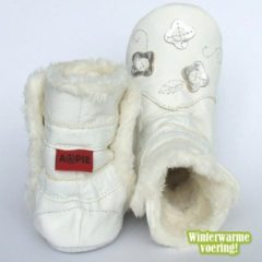 Aapie Winterboot Flower Silver