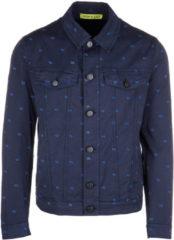 Blue Versace Jeans Giubbotto giubbino uomo in cotone regular easy