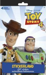Disney - ToyStory 4 - Stickerboek - 4 vellen