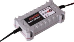 Gudetek - 2000 Battery Charger - Acculader - Druppellader - 6 / 12 V - Incl accudiagnose - Grijs