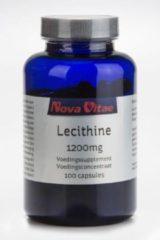 Nova Vitae Lecithine 1200 mg 100 Capsules