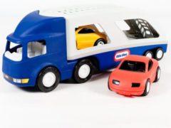 Blauwe Little Tikes Grote Auto Transporter - Speelgoedvoertuig