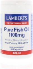Lamberts Pure visolie 1100 mg omega 3 60 Capsules