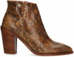 Gele Maruti Roza leather snake cognac 66.1445.02 2black 2680