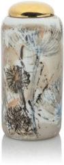 Maison Glamour Vase mit goldenem Deckel
