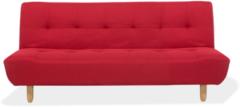 Rode Beliani Alsten Slaapbank Polyester 100 X 182 Cm