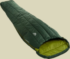 Mountain Equipment Sleepwalker III Kunstfaserschlafsack bis Körpergröße Schlafsack 185 cm cm Farbe: pinegrove / cedar, Schlafsack links