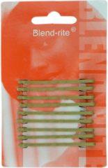 Sibel - Blend Rite Haarschuifjes - Blond - 5,0 cm - 9 Stuks