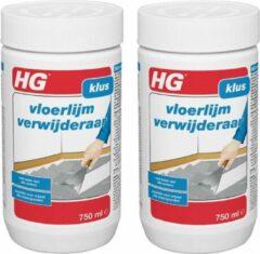 HG vloerlijmverwijderaar Dé snelwerkende vloerlijmverwijderaar - 2 Stuks !