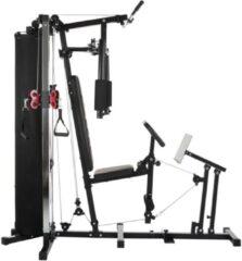 Grijze Hammer Fitness Hammer Ferrum TX3 Homegym met pulley en legpress