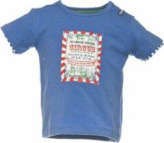 Beebielove Babykleding Blauwe Jongens Tshirt Circus - 68
