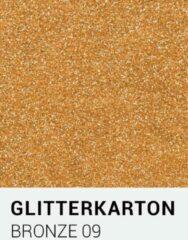 Glitterkarton notrakkarton Glitterkarton 09 bronze A4 230 gr.