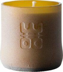 Bruine WOO Lucky Candle Matt Brown - S - geur: Tranquility - 30 branduren