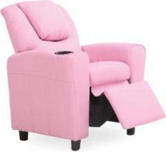 Rousseau Relaxfauteuil voor kinderen Rex - roze