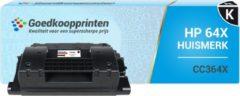 Goedkoopprinten Huismerk voor HP 64X toner / HP CC364X toner cartridge Zwart (26.500 afdrukken)