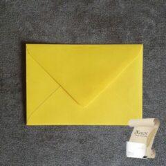 Merkloos / Sans marque Luxe zwavelgeel C6 Envelop (114 x 162 mm) - 120 grams gegomd - 250 stuks