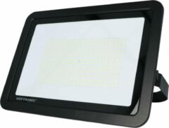 Zwarte HOFTRONIC LED Breedstraler 200 Watt 4000K Osram IP65 vervangt 1800 Watt 5 jaar garantie V2