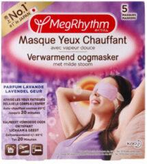 Megrhythm Verwarmend Oogmasker Lavendel 5 stuks