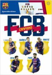 Imagicom Muursticker FC Barcelona - 11 spelers - 14 stickers