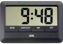ADE TD 1601 Timer Zwart Digitaal