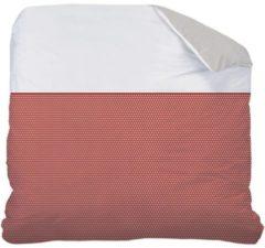 Bruine Matt & Rose Esprit géométrique - Dekbedovertrek - Lits Jumeaux - 240 x 220 cm - Brique