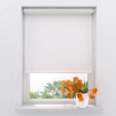 Gebroken-witte Raamdecoratie.com Rolgordijn Easy Verduisterend Off White 40 x 190 cm